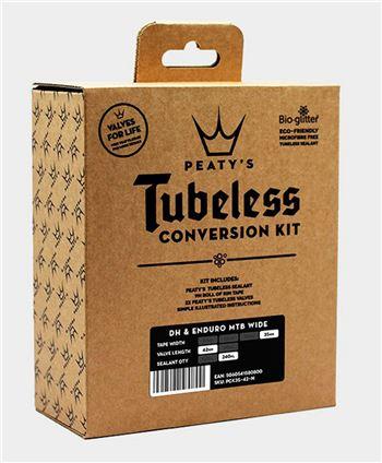 KIT CONVERSION TUBELESS PEATYS 35MM ENDURO-DH