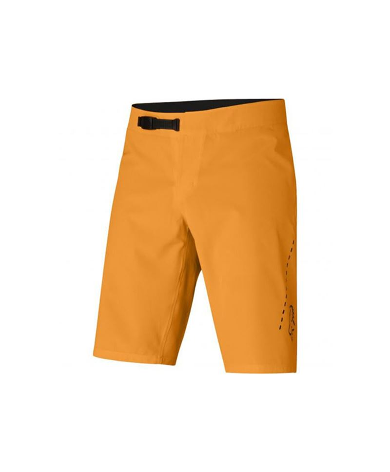 Pantalon Corto Fox Flexair Lite Naranja