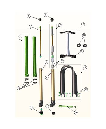 AIR SPRING ASSEMBLY EMERALD N3
