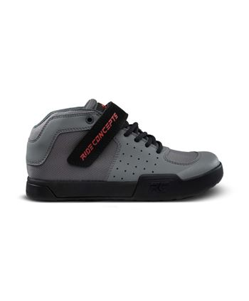 ZAPATILLAS RIDE CONCEPTS YOUTH WILDCAT CHARCOAL/RED