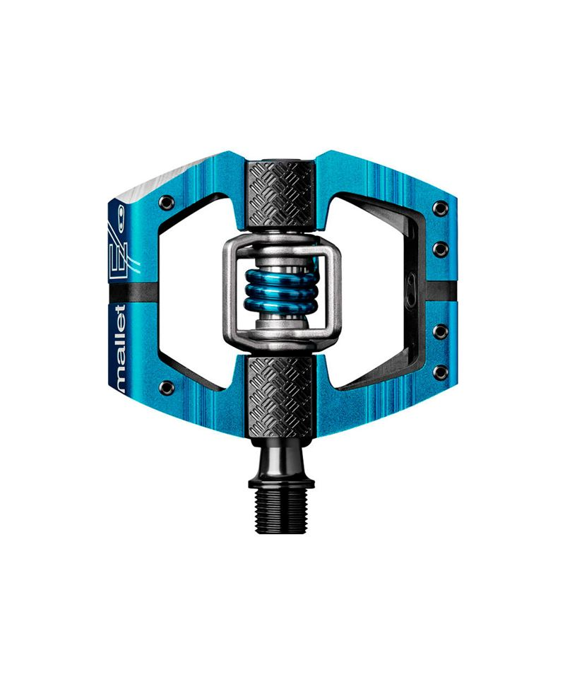 PEDALES CRANK BROTHERS MALLET E ELECTRIC BLUE