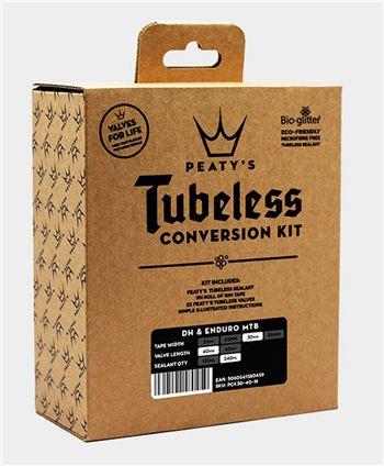 KIT CONVERSION TUBELESS PEATYS 30MM ENDURO-DH