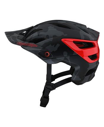 CASCO TROY LEE A3 MIPS CAMO GRAY/RED