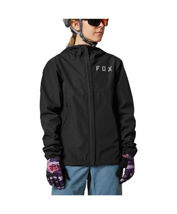 CHAQUETA IMPERMEABLE FOX RANGER 2.5L WATER BLACK (MUJER)
