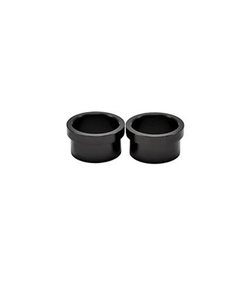 CHRIS KING FRONT ISO AB AXLE CAP 110 X 20 MM BLACK