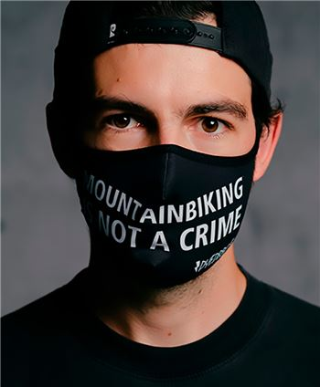 MASCARILLA REUTILIZABLE DYEDBRO MTBIKING IS NOT A CRIME