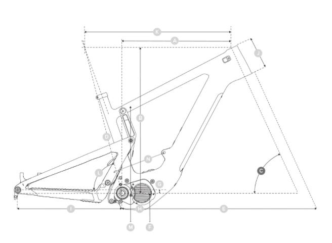 Bicicleta eléctrica Santa Cruz Heckler Lite MX CC KIT S 2021