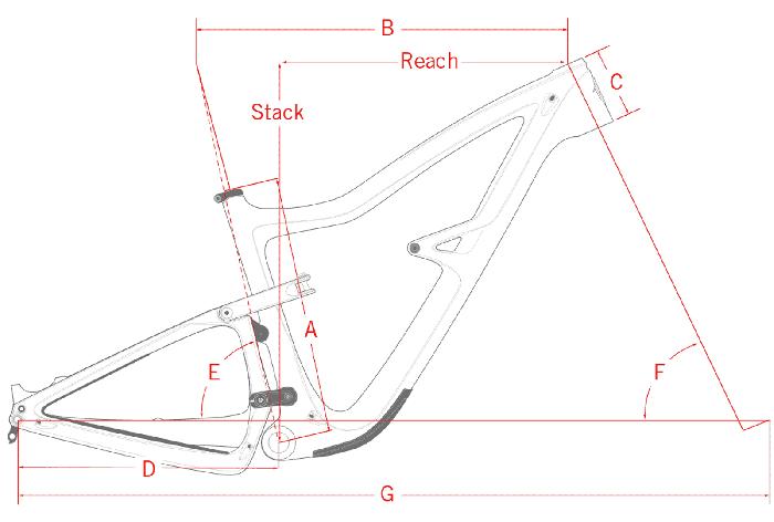 Bicicleta de carbono Ibis Ripley 4 Carbon 29 Kit GX 2019 Blue Steel