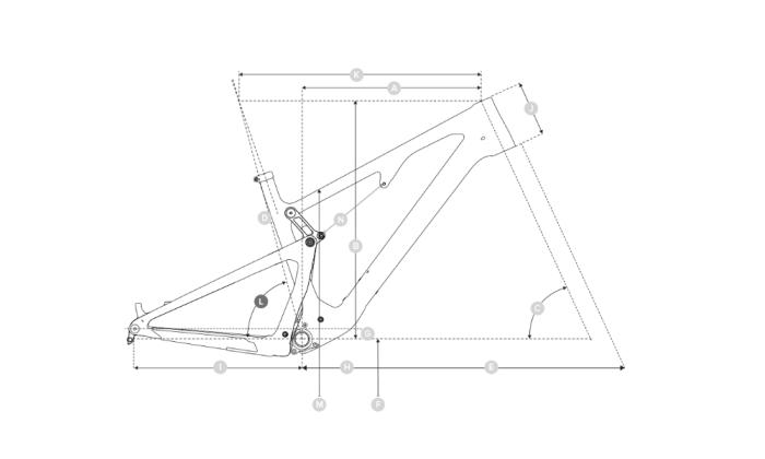 Bicicleta de carbono Santa Cruz 5010 3 C KIT S 2020