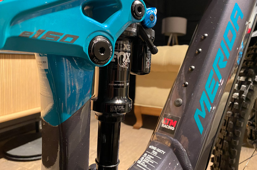 bicicleta merida-eONE-SIXTY